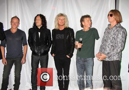 Def Leppard, Phil Collen, Vivian Campbell, Rick Savage, Rick Allen, Joe Elliott