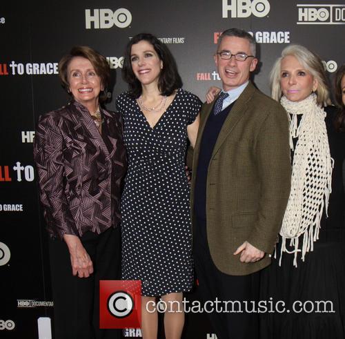 Jim Mcgreevey, Nancy Pelosi, Alexandra Pelosi and Sheila Nevins 2