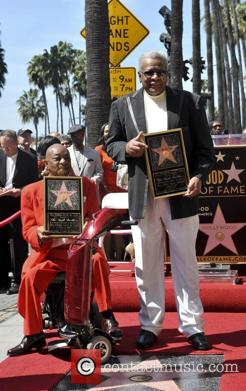 The Funk Brothers receives Hollywood Star