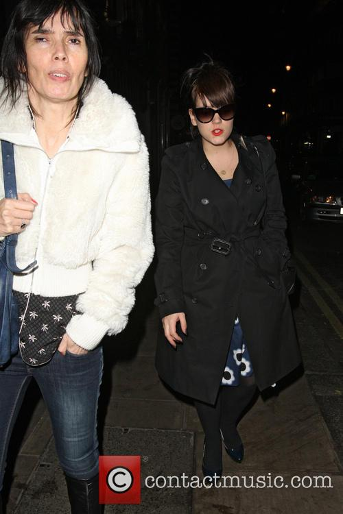 Lily Allen Leaves The Groucho Club