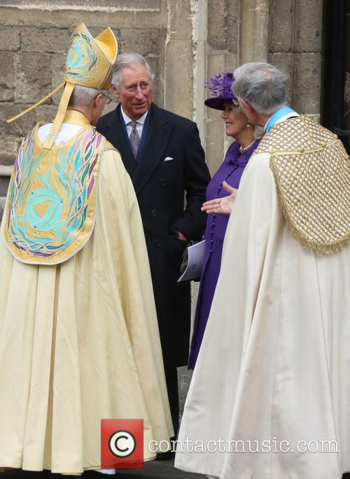 Archbishop Of Canterbury Justin Welby, Prince Charles, Prince Of Wales, Camilla and Duchess Of Cornwall 3