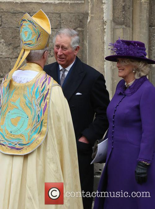 Archbishop Of Canterbury Justin Welby, Prince Charles, Prince Of Wales, Camilla and Duchess Of Cornwall 1