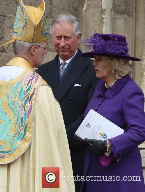 Archbishop Of Canterbury Justin Welby, Prince Charles, Prince Of Wales, Camilla and Duchess Of Cornwall 4