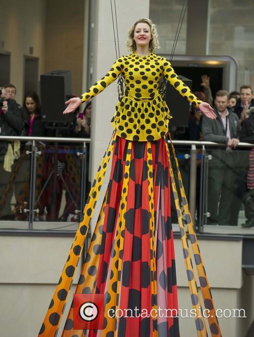 World's longest designer dress