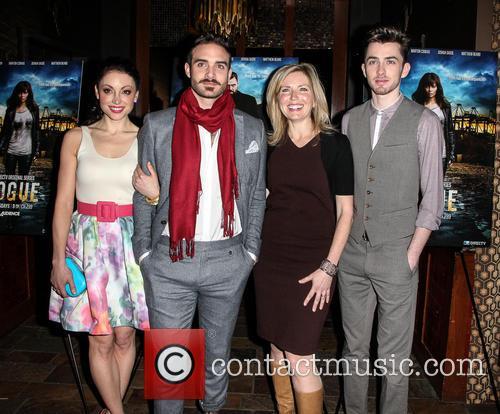 Joshua Sasse, Leah Gibson, Matthew Beard and Guest 3