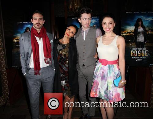 Joshua Sasse, Thandie Newton, Matthew Beard and Leah Gibson 1
