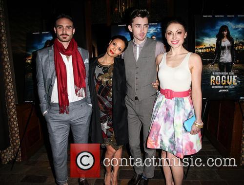Joshua Sasse, Thandie Newton, Matthew Beard and Leah Gibson 4
