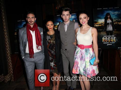 Joshua Sasse, Thandie Newton, Matthew Beard and Leah Gibson 6