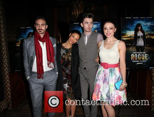 Joshua Sasse, Thandie Newton, Matthew Beard and Leah Gibson 7