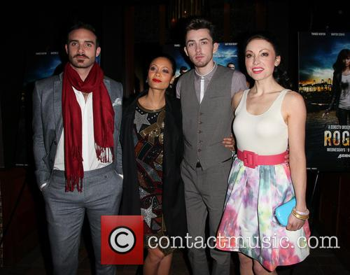 Joshua Sasse, Thandie Newton, Matthew Beard and Leah Gibson 10