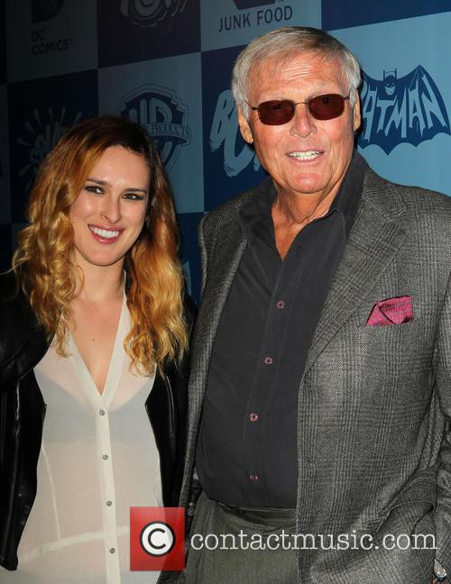 Rumer Willis, Adam West, Meltdown Comics