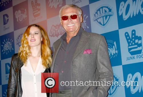 Rumer Willis and Adam West 2