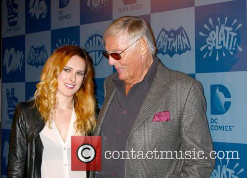 Rumer Willis and Adam West 4