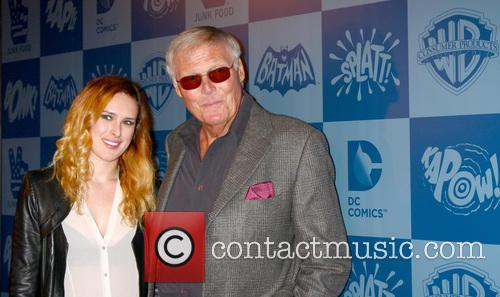 Rumer Willis and Adam West 1