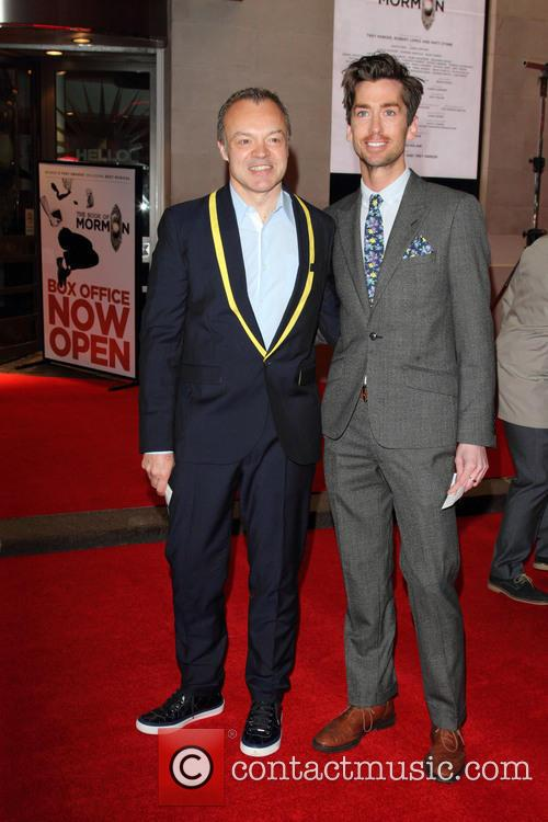 Graham Norton and Trevor Patterson 10