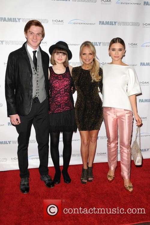 Eddie Hassell, Joey King, Kristin Chenoweth and Olesya Rulin