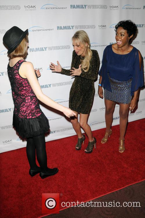 Joey King, Kristin Chenoweth and Lisa Lauren Smith 5
