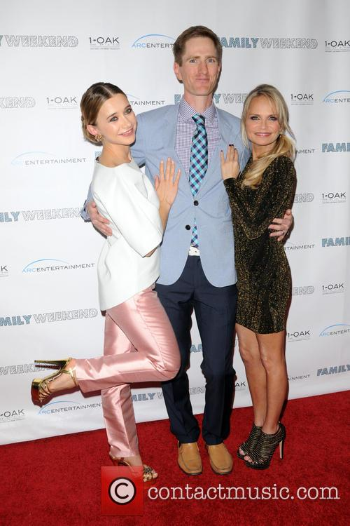 Olesya Rulin, Director Benjamin Epps and Kristin Chenoweth 2