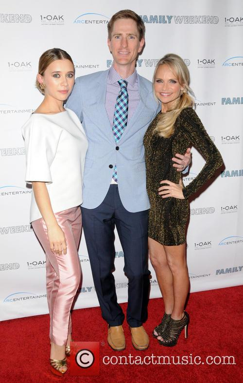 Olesya Rulin, Director Benjamin Epps and Kristin Chenoweth 11