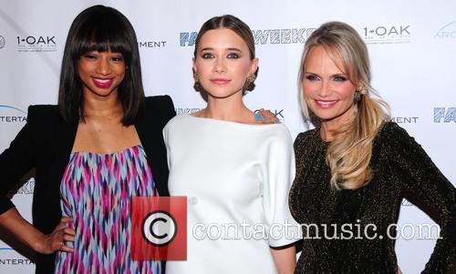 Monique Coleman, Kristin Chenoweth and Olesya Rulin 8