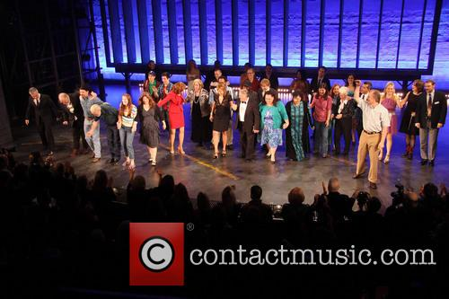 Keith Carradine, Mary Gordon Murray, Keala Settle, David Larsen, Hunter Foster and William Youmans 7