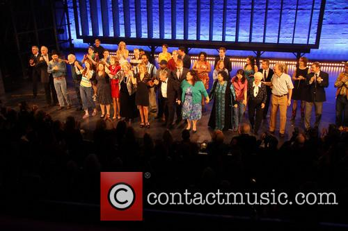 Keith Carradine, Mary Gordon Murray, Keala Settle, David Larsen, Hunter Foster and William Youmans 10