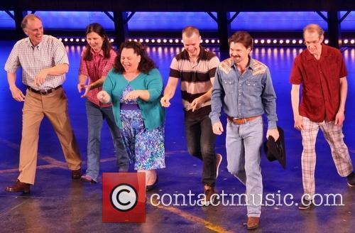 Keith Carradine, Mary Gordon Murray, Keala Settle, David Larsen, Hunter Foster and William Youmans 1