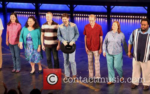 Settle, Mary Gordon Murray, David Larsen, Hunter Foster, William Youmans, Dale Soules and Jacob Ming-trent 1
