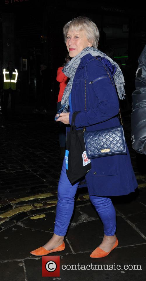 helen mirren helen mirren leaves the gielgud 3569253