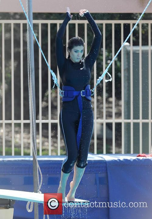 katherine webb diving practice for tv show 3568982