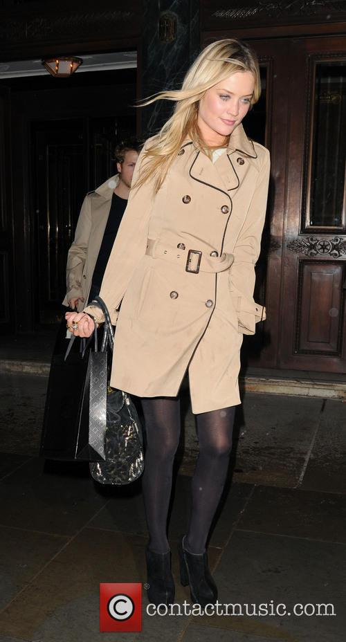 Laura Whitmore Leaves Cafe Royal