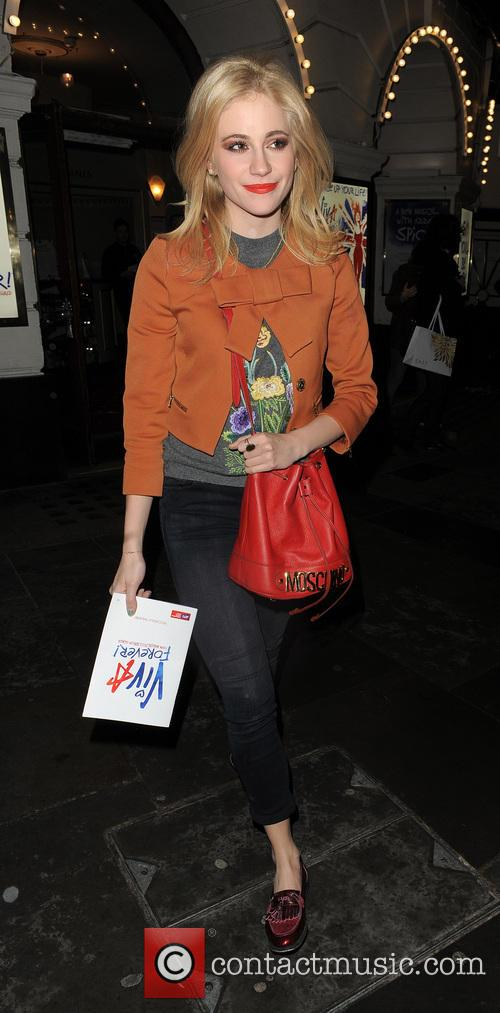Pixie Lott At The Piccadilly Theatre