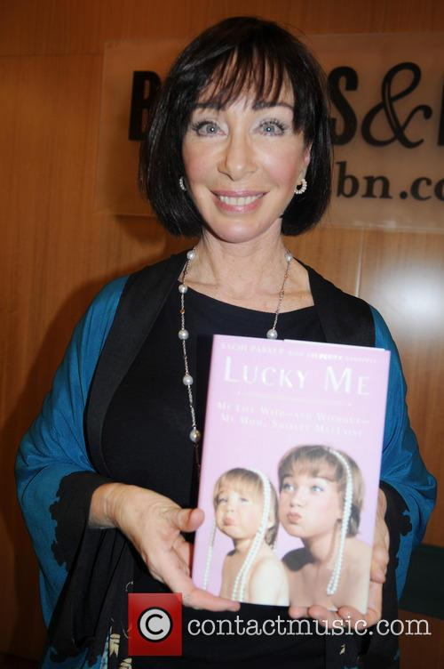 Sachi Parker signs her book 'Lucky Me: My...