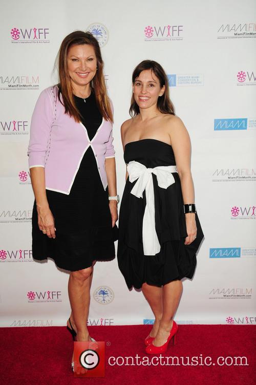 Amy Jo Johnson and Lilliana Komorowska 3