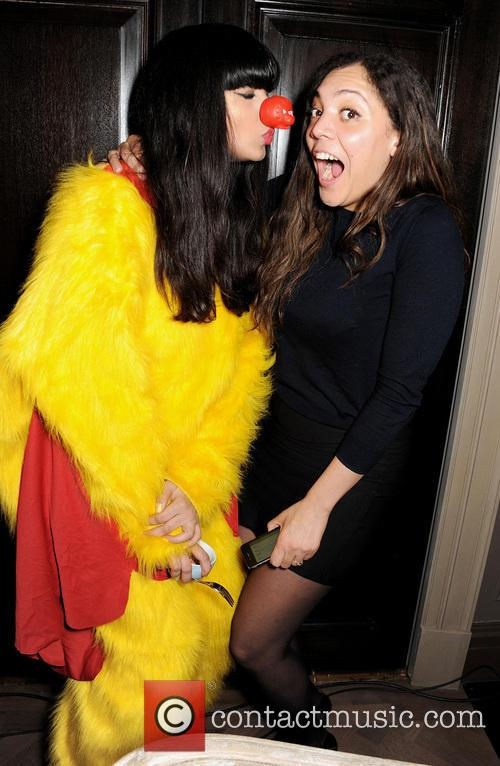 Jameela Jamil and Miquita Oliver 4
