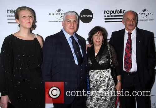 Jane Winehouse, Mitch Winehouse, Janis Winehouse and Richard Collins 2