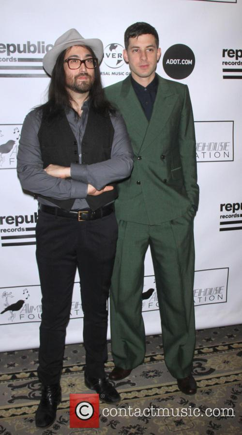 Mark Ronson and Sean Lennon 5