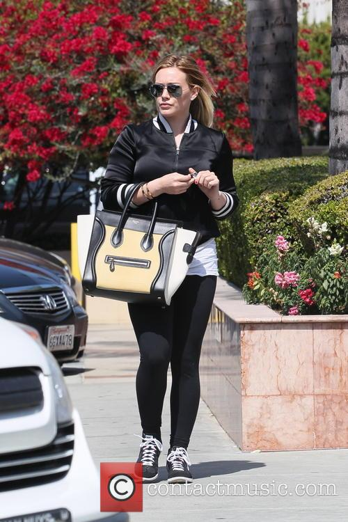Hilary Duff out shopping in West Hollywood