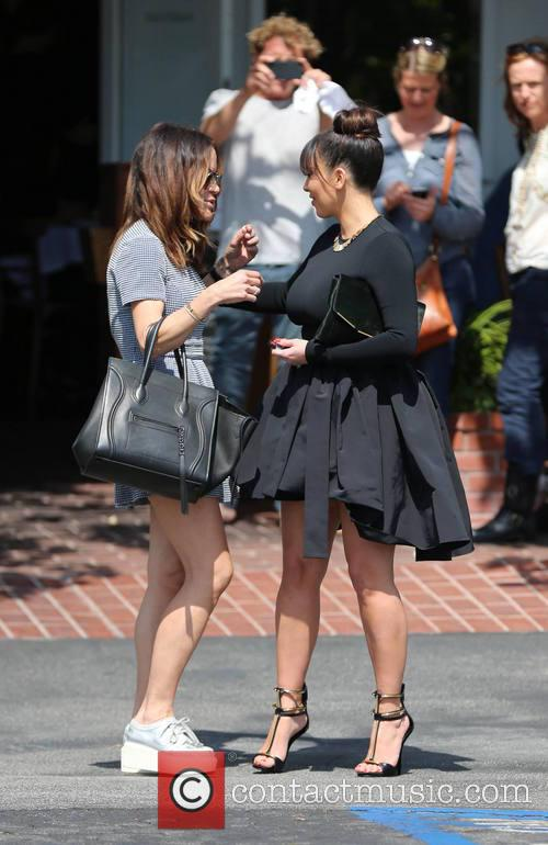 Kim Kardashian and Robin Antin 2
