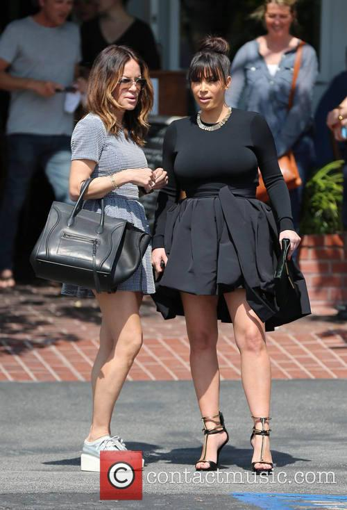 Kim Kardashian and Robin Antin 5