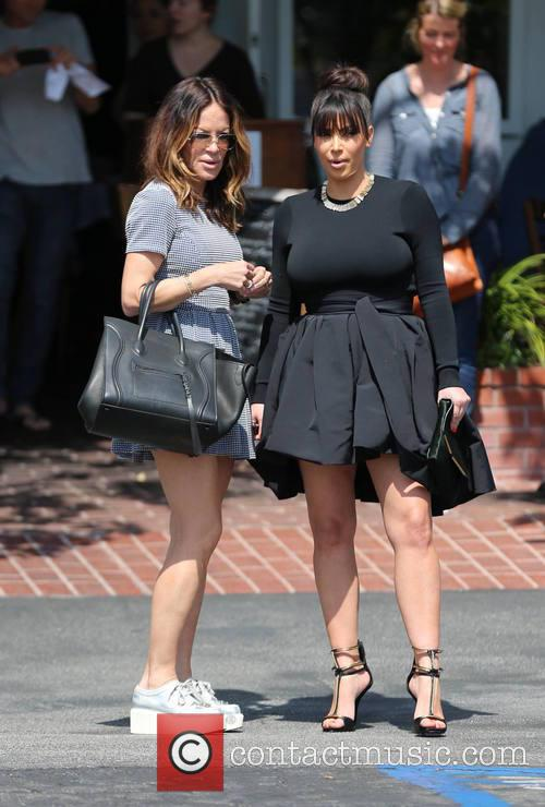 Kim Kardashian and Robin Antin 7