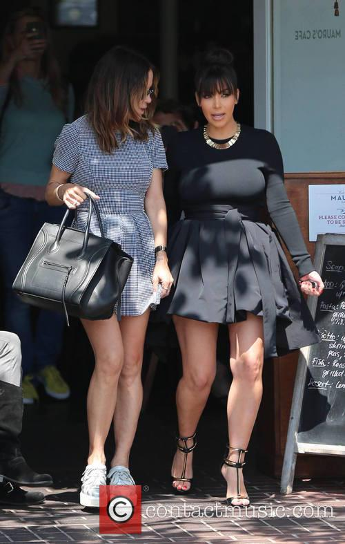 Kim Kardashian and Robin Antin 8