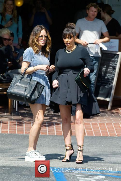 Kim Kardashian and Robin Antin 1