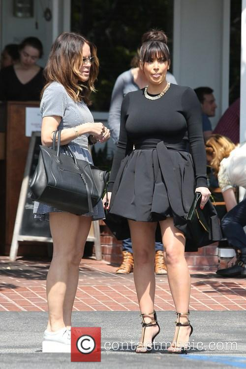 Kim Kardashian and Robin Antin 13
