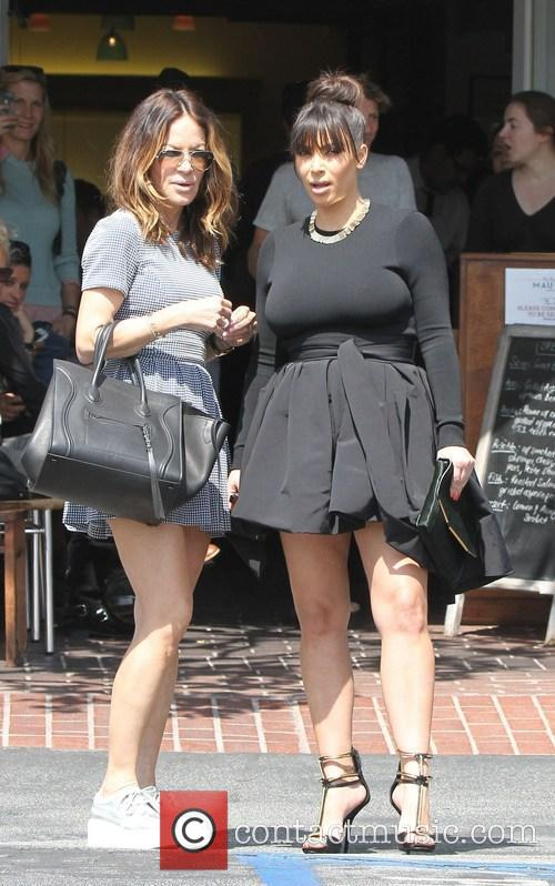 Kim Kardashian and Robin Antin 16