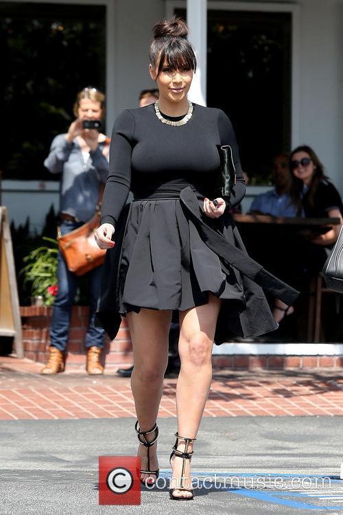 kim kardashian kim kardashian leaving fred segal 3570745