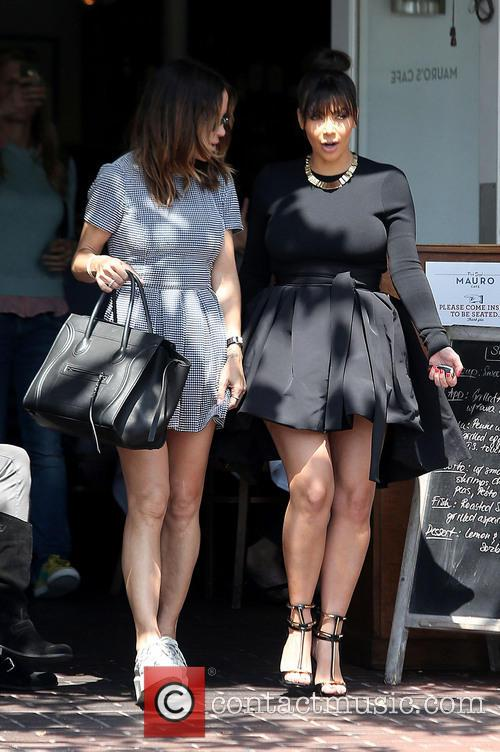 Robin Antin and Kim Kardashian 7