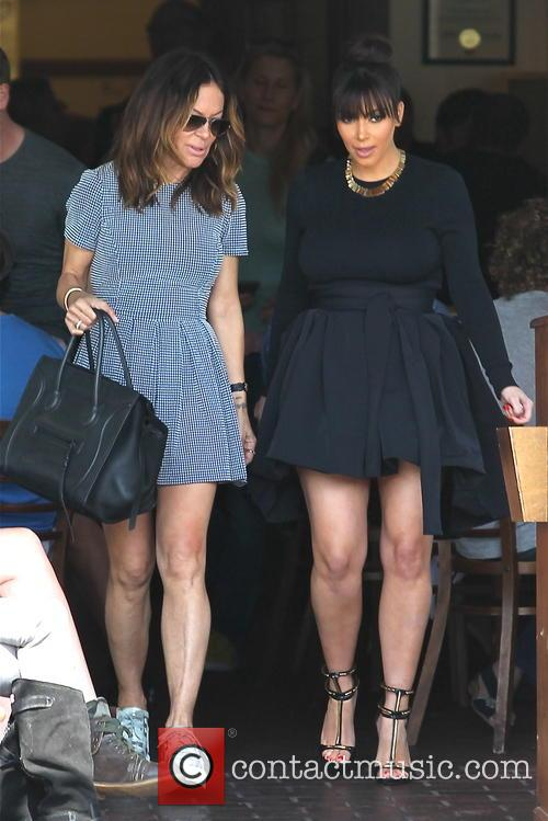 Kim Kardashian and Robin Antin 24