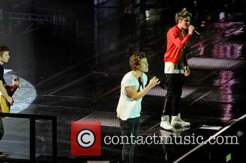 one direction niall horan harry styles one direction concert 3570899