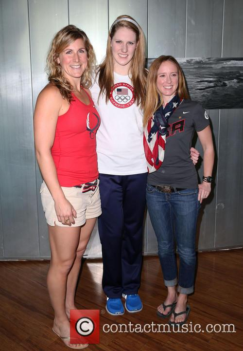Erin Cafaro, Missy Franklin and Mary Whipple 1